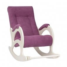 Кресло-качалка, модель 44 экокожа с подножкой