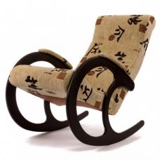 Кресло-качалка, модель 3 ткань Токио